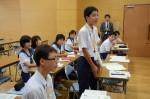 平成28年度体験入学<那珂川北中学校>【65】