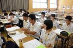 平成28年度体験入学<三国中学校>【44】