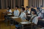 平成28年度体験入学<筑紫野中学校>【12】