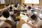 平成28年度体験入学<筑紫野中学校>【40】