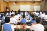 平成29年度体験入学<太宰府東中学校>【2】