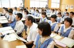 平成29年度体験入学<太宰府東中学校>【4】