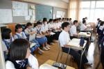 平成29年度体験入学<太宰府東中学校>【25】