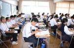 平成29年度体験入学<太宰府東中学校>【31】