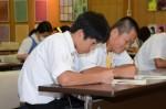 平成29年度体験入学<太宰府東中学校>【39】