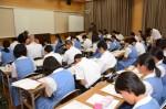 平成29年度体験入学<太宰府東中学校>【64】