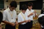 平成29年度体験入学<二日市中学校>【30】