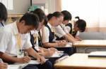 平成29年度体験入学<二日市中学校>【39】