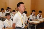 平成29年度体験入学<春日北中学校>【8】