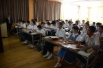 平成29年度体験入学<春日南中学校・春日野中学校>【79】
