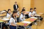 平成29年度体験入学<那珂川中学校>【8】
