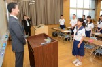 平成29年度体験入学<那珂川中学校>【11】
