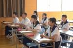 平成29年度体験入学<那珂川中学校>【15】