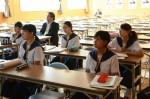 平成29年度体験入学<那珂川中学校>【56】