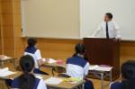 平成29年度体験入学<那珂川中学校>【63】