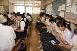 平成29年度体験入学<筑山中学校・筑紫丘中学校>【34】