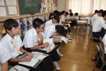平成29年度体験入学<筑山中学校・筑紫丘中学校>【35】