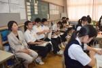 平成29年度体験入学<筑山中学校・筑紫丘中学校>【36】