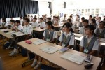 平成29年度体験入学<太宰府西中学校>【8】
