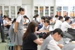 平成29年度体験入学<太宰府西中学校>【41】