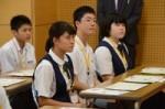 平成29年度体験入学<曰佐中学校・板付中学校・学業院中学校>【8】