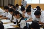 平成29年度体験入学<曰佐中学校・板付中学校・学業院中学校>【33】