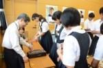 平成29年度体験入学<曰佐中学校・板付中学校・学業院中学校>【54】