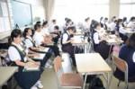 平成29年度体験入学<曰佐中学校・板付中学校・学業院中学校>【61】