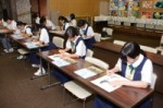 平成29年度体験入学<曰佐中学校・板付中学校・学業院中学校>【75】