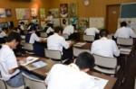 平成29年度体験入学<曰佐中学校・板付中学校・学業院中学校>【78】