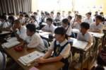 平成29年度体験入学<曰佐中学校・板付中学校・学業院中学校>【86】