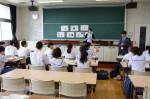 平成30年度体験入学<御陵中学校>【43】