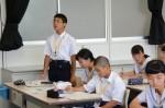 平成30年度体験入学<御陵中学校>【49】