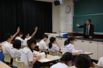 平成30年度体験入学<御陵中学校>【75】