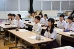 平成30年度体験入学<春日中学校中学2年生>【8】