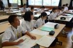 平成30年度体験入学<春日中学校中学2年生>【35】