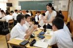 平成30年度体験入学<春日南中学校・春日野中学校>【61】