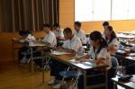 平成30年度体験入学<那珂川中学校>【9】