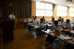 平成30年度体験入学<那珂川中学校>【65】