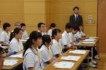 平成30年度体験入学<老司中学校・甘木中学校>【8】