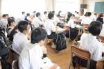平成30年度体験入学<老司中学校・甘木中学校>【54】
