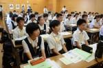 平成30年度体験入学<筑紫丘中学校・筑山中学校>【11】