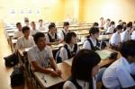 平成30年度体験入学<筑紫丘中学校・筑山中学校>【18】