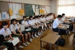 平成30年度体験入学<筑紫丘中学校・筑山中学校>【54】