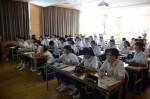 平成30年度体験入学<筑紫丘中学校・筑山中学校>【88】