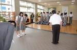 平成30年度体験入学<太宰府西中学校>【75】