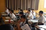 平成30年度体験入学<三宅中学校>【72】