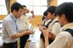 平成30年度体験入学<日佐中学校>【56】
