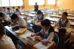 令和元年度体験入学<春日東中学校>【13】