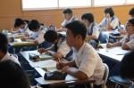 令和元年度体験入学<春日東中学校>【14】